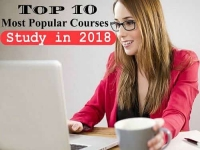 Top Ten Most Popular courses to Study in 2018