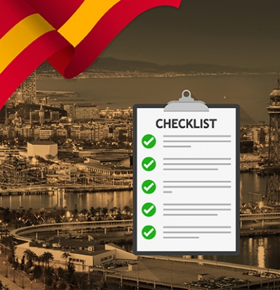 Checklist Before going to Study in Spain