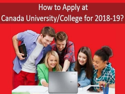 How to Apply in Canadian University/College for 2018-2019?