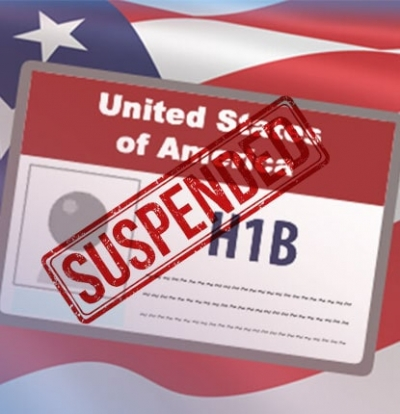 How will the temporary US H1B visa suspension affect Indian students and employees?