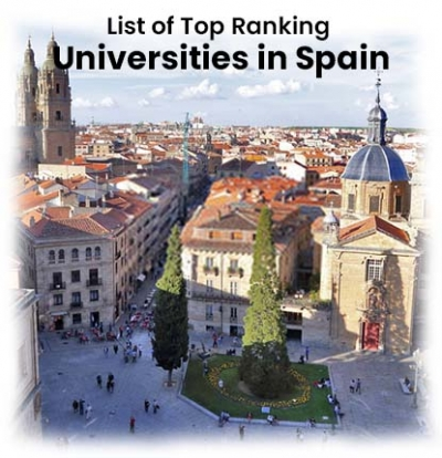 List of Top Ranking Universities in Spain 2019-20