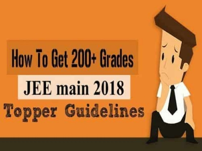 Preparation Tips for JEE main 2018 Exam : Topper Guidelines