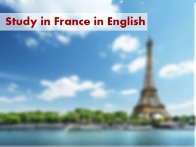 Study in France in English