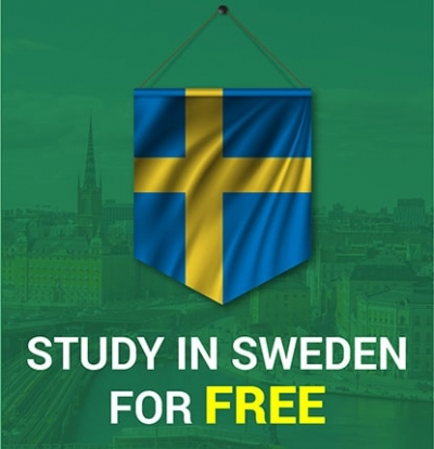 Study in Sweden for Free