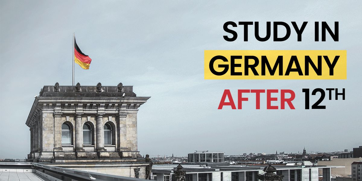 Study in Germany after 12th