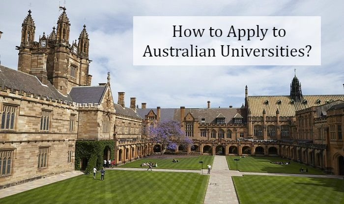 How to Apply to Universities in Australia?
