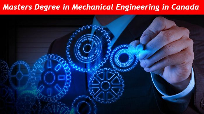 Masters in Mechanical Engineering in Canada