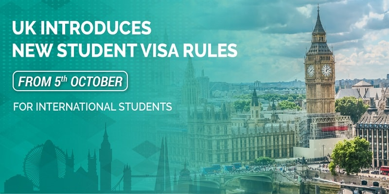 UK Introduces New Student Visa Rules from 5th October for International students