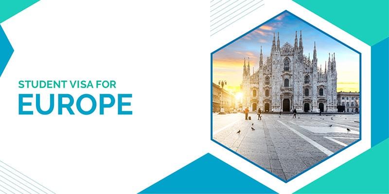 Student visa for Europe