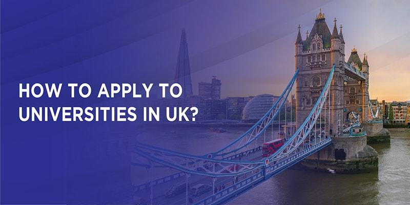 How to apply to Universities in UK?