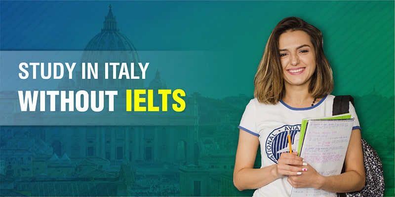 Study in Italy without IELTS