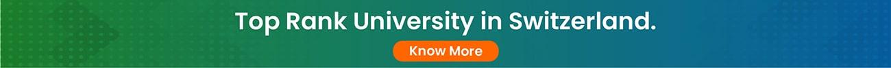 Top Rank University in Switzerland