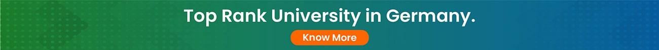 Top Rank University in Germany