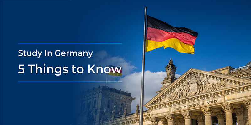 Study In Germany: Five Things to Know